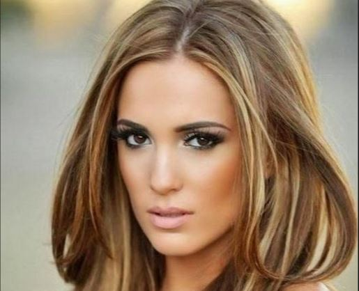 Best Hair Color For Brown Eyes With Fair Olive Medium