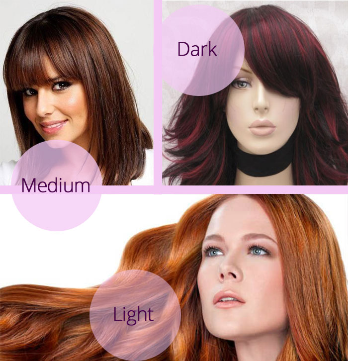 Cinnamon Hair Color Light Dark Chart Formula CaramelBlonde Highlights A