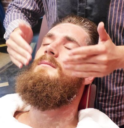 Massage your beard area to stimulate hair follicles to grow