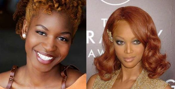 Photo of Ginger Hair Color Dye – On Dark Skin, Chart, Formula, with Highlights and Ideas