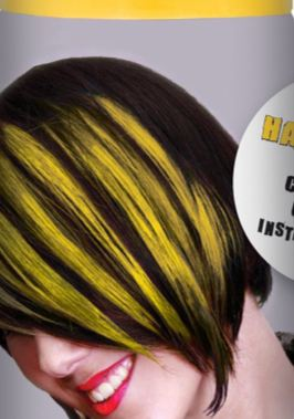Temporary yellow hair color