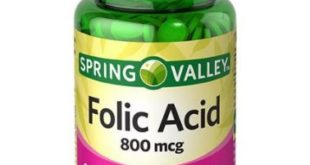 Folic acid for hair growth