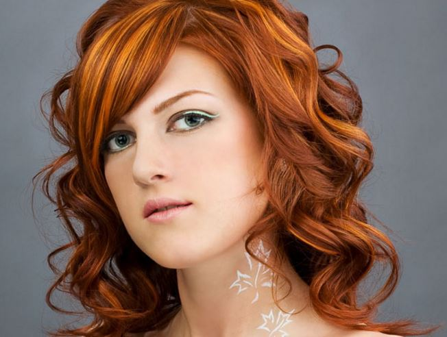 Orange Hair Dye: Bright, Light, Dark, on Dark Hair, Red ...