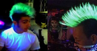 glow in the dark hair dye pictures men