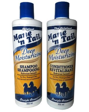 Horse mane and tail shampoo
