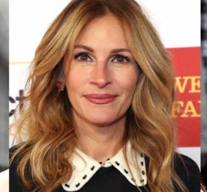 julia roberts with honey blonde hair color