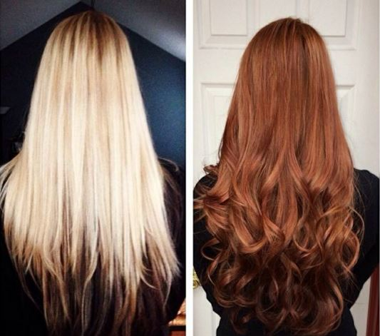 Image result for color hair wax before after