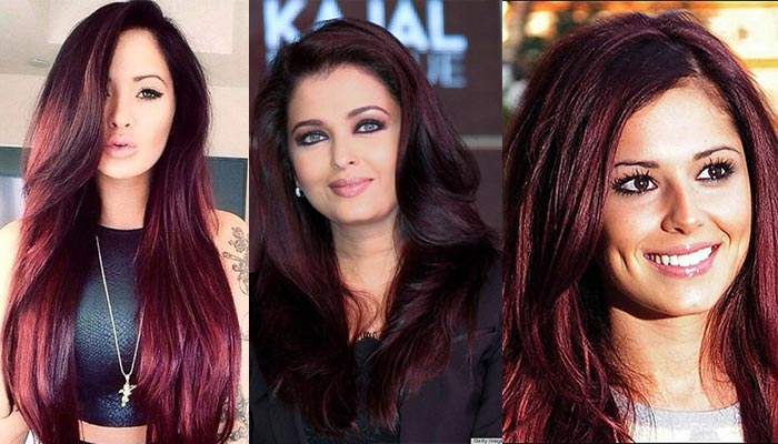 Chocolate Cherry Hair Color best ideas with pictures