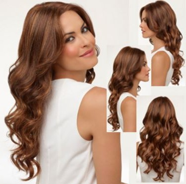 Cinnamon brown hair for brunettes with brown eyes