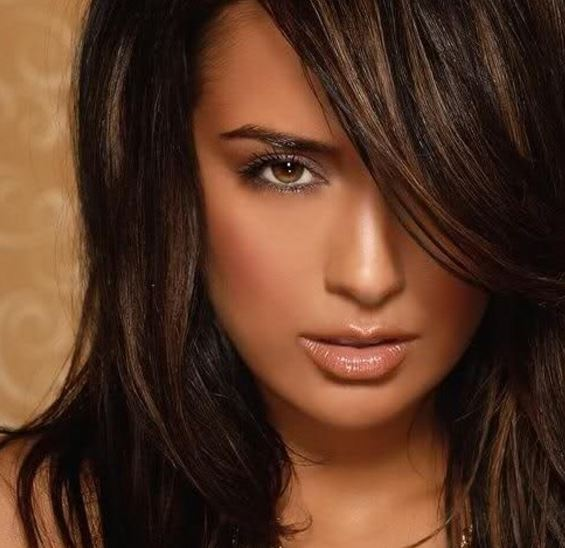 Hair Color Ideas For Brunettes Funky With Highlights For Blue