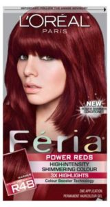 Loreal Paris Feria Chocolate Cherry Hair Color Brand Jpg