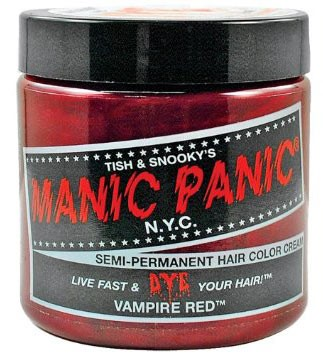 Red shades of semi permanent color dye