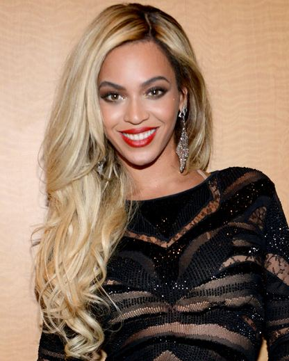 Beyonce blonde hair dye on black skin