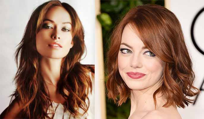 Bronze Hair Color Golden Brown Copper Pictures Chart